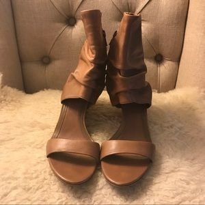 ASH cognac leather sandals. Size 39